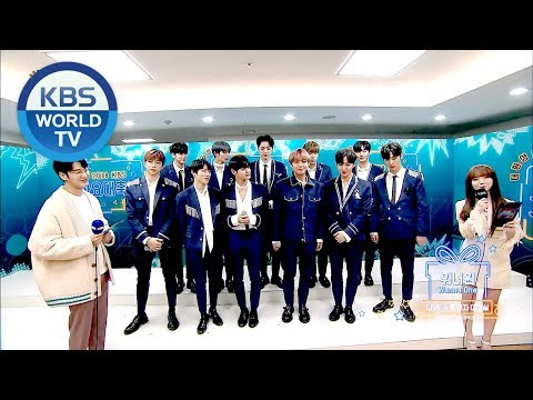Wanna One's interview! [2018 KBS Song Festival/ENG/CHN/2018.12.28]
