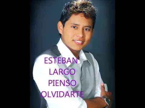 música popular 2015 Colombia Esteban  Largo -Pienso Olvidarte