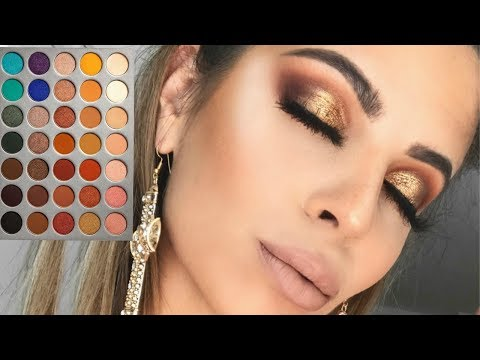 MY GO-TO MAKEUP TUTORIAL   JACLYN HILL X MORPHE PALETTE
