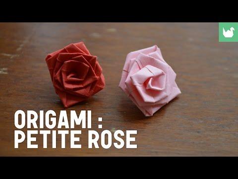 Comment faire une rose en papier ?