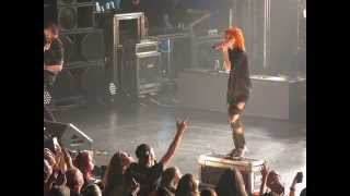 2/21 Paramore - Proof @ Beacon Theatre, NYC 5/06/15 Writing the Future Tour