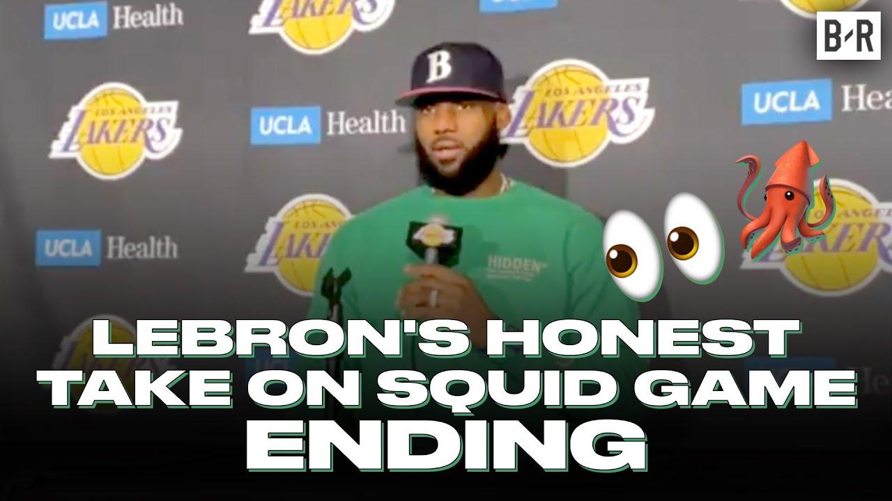 LeBron James Didn't Like The Ending Of Squid Game Season 1 😅  (SPOILER WARNING)