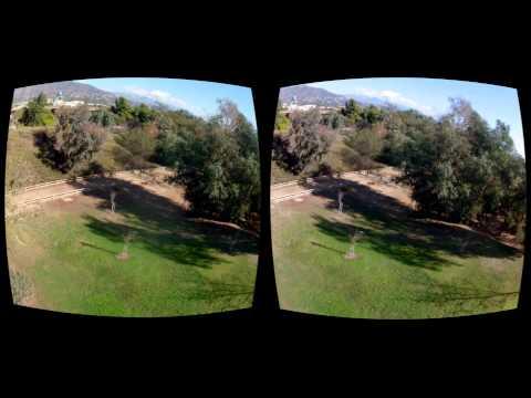 Oculus Rift 3D FPV Quadcopter - A thin Strip of Green