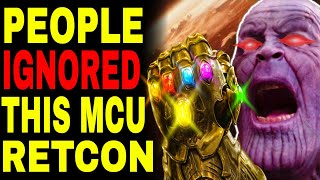 The Infinity Stones are CONTROLLING Thanos In Avengers Endgame