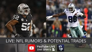 NFL Rumors, Dez Bryant's Future, Raiders Trade Demands For Khalil Mack & Players Who Could Be Traded