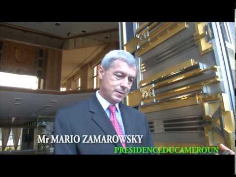 LES AUDIENCES DE S.E PAUL BIYA AU CHEF DE MISSION D'EVALUATION DU FMI