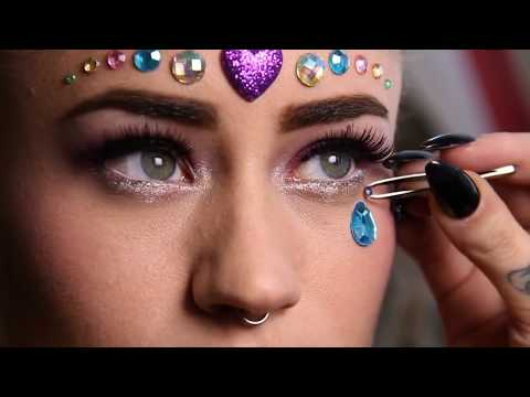 WICKED HIPPIE FACE JEWELS TUTORIAL | Dolls Kill