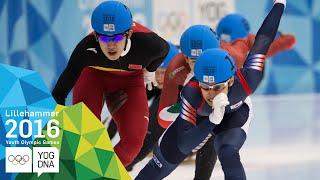Short Track 1000m - Daeheon Hwang (KOR) wins Men's gold | Lillehammer 2016 Youth Olympic Games