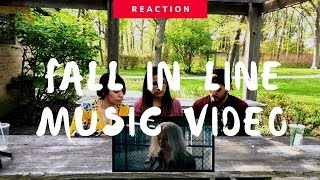 Christina Aguilera ft Demi Lovato | Fall In Line (Official Video) Reaction | The Millennial Chisme