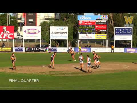 Round 16 highlights: Werribee vs Northern Blues