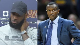 LeBron James Reacts To Raptors Firing Coach Dwane Casey After Sweep!