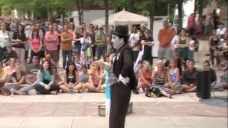 Hilarious Charlie Chaplin Impersonator