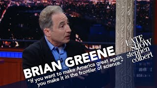 Brian Greene Makes Stuff Levitate. Seriously.