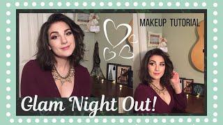 Super Dewy GLAM NIGHT OUT Makeup Tutorial!   Springtime Fresh!