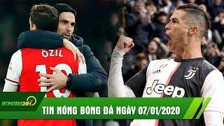 TIN NÓNG BÓNG ĐÁ 7/1: Ronaldo lập hattrick SIÊU KHỦNG, Arsenal nhọc nhằn tiến vào vòng 4 FA Cup
