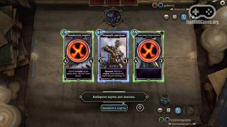 Геймплей игры The Elder Scrolls: Legends (Full HD)
