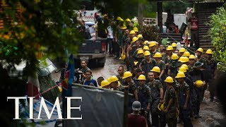 Thailand Authorities Race To Get 12 Boys And Their Soccer Coach Out Of A Cave | TIME