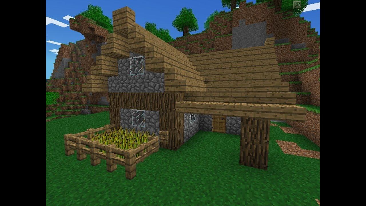 Minecraft Pe House Designs Survival
