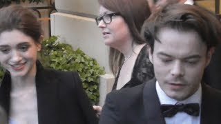 VIDEO Charlie HEATON & Natalia DYER @ Paris 10 april 2019 for Cartier Event / Stranger Things