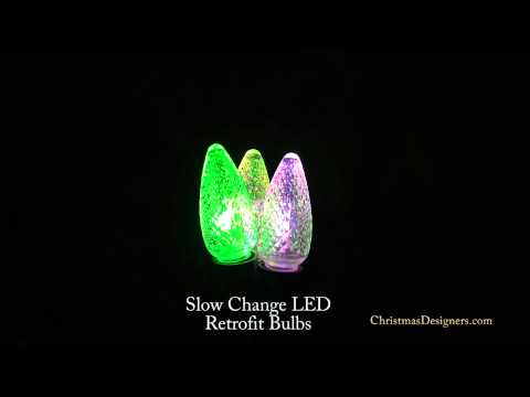 Slow Change LED Retrofit Bulbs