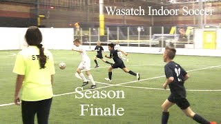 Wasatch JS vs Wasatch CH - U12 Indoor Soccer
