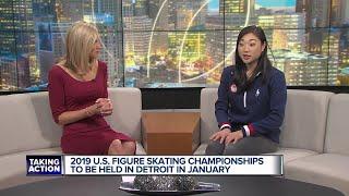 Mirai Nagasu visits Broadcast House to preview 2019 U.S. Figure Skating Championship