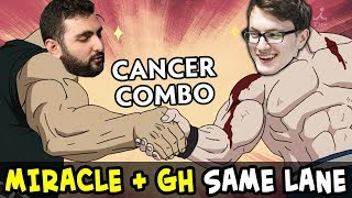When MIRACLE meets GH on lane — they pick CANCER COMBO