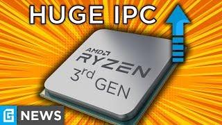 3rd Gen Ryzen's Official IPC Increase Is MASSIVE!