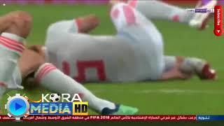 ملخص اهداف مباراة البرتغال واسبانيا كاس العالم2018 .وتالق كرسيانو ...
