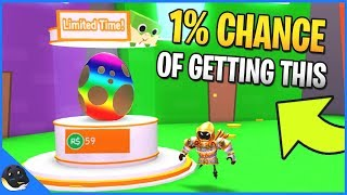 THERE IS A 1% CHANCE TO GET THIS EGG | Pet Simulator