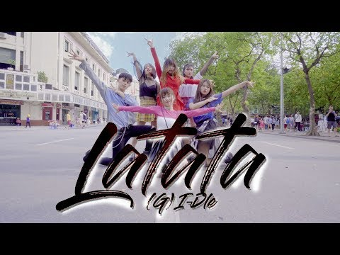 [KPOP IN PUBLIC CHALLENGE] (G)I-DLE((여자)아이들) _ LATATA Dance Cover By M.S Crew From Vietnam