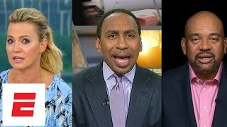 Stephen A. Smith, Michael Wilbon and Michelle Beadle sound off on Kawhi Leonard's Spurs drama | ESPN