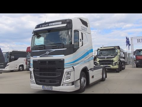 Volvo FH 500 I-Shift Dual Clutch 4x2 Tractor (2016) Exterior and Interior in 3D