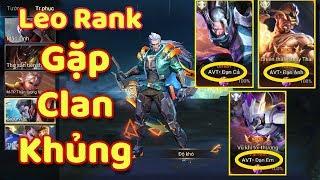 [Gcaothu] Leo rank gặp ngay clan khủng chơi cực gắt - Trận đấu học cách ăn hành khi chơi Murad