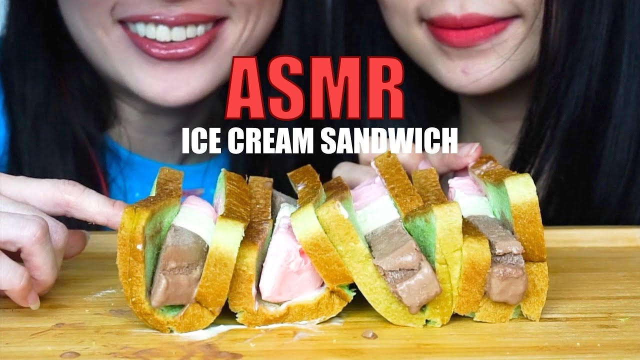Freeze Dried Astronaut Ice Cream Sandwich Crunchy Asmr No Talking Eating Sounds N E Let S Eat Video Sportnk Asmr videos that are sexual in nature. sportnk