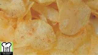 Instant potato chips - spicy & crispy