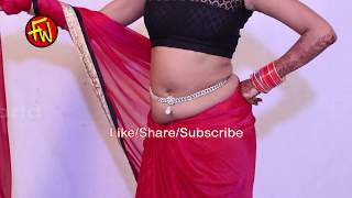 how to wear saree perfectly -Saree with Designer Blouse pink beautiful bridal saree