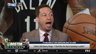 Chris Broussard SHOCKED Celtics GM Danny Ainge: