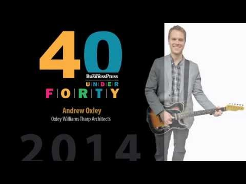 2014 Fort Worth Business Press 40 Under 40 - Andrew Oxley