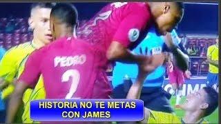 HISTORIA MATEUS URIBE DEFIENDE A JAMES RODRIGUEZ COLOMBIA VS QATAR