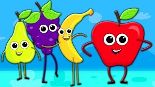 buahan lagu | lagu untuk anak-anak | musik bayi | Fruits Song | Learn Fruits | Educational Song