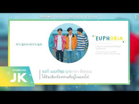 [Karaoke-Thaisub] Euphoria : Theme of LOVE YOURSELF 起 Wonder - BTS (방탄소년단) #89brฉั๊บฉั๊บ