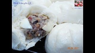 Bánh Bao - Bí quyết để làm Bánh Bao nhân Thịt, vỏ Bánh trắng và xốp mềm by Vanh Khuyen