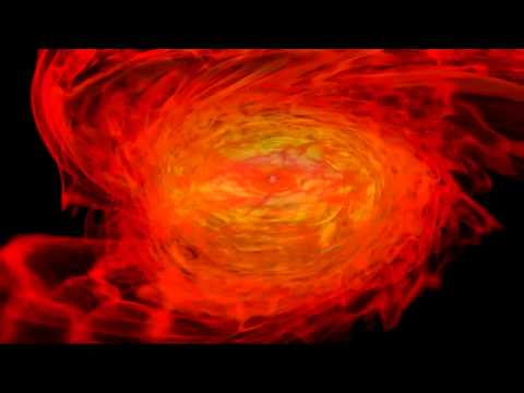 Neutron Stars Tear Each Other To Shreds, Black Hole Ensues | Visualization