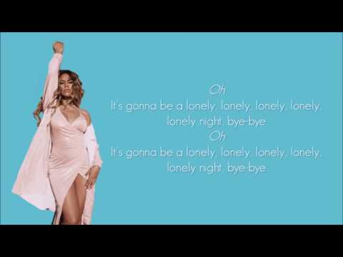 Fifth Harmony - Lonely night (Lyrics)