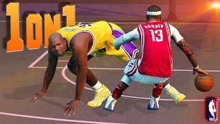 HEAVIEST Ankle Breaker Ever? / Shake vs Shaq - NBA 2K16 1on1