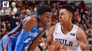 Oklahoma City Thunder vs Philadelphia 76ers - Full Game Highlights | July 8, 2019 NBA Summer League