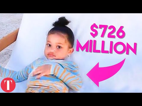 Норт Вест има сметка со 10 милиони - колку се богати децата од кланот Кардашијан-Џенер?