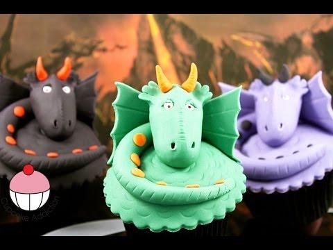Dragon Cupcakes Make Dragon Cup Cake Topper With Cupcake