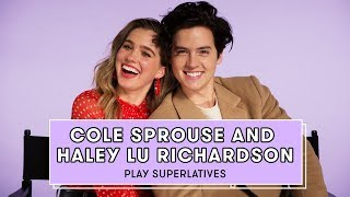 Cole Sprouse and Haley Lu Richardson Talk Love Languages, Five Feet Apart, and More   Superlatives